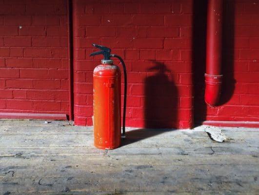 Immobilienversicherung bei Brand