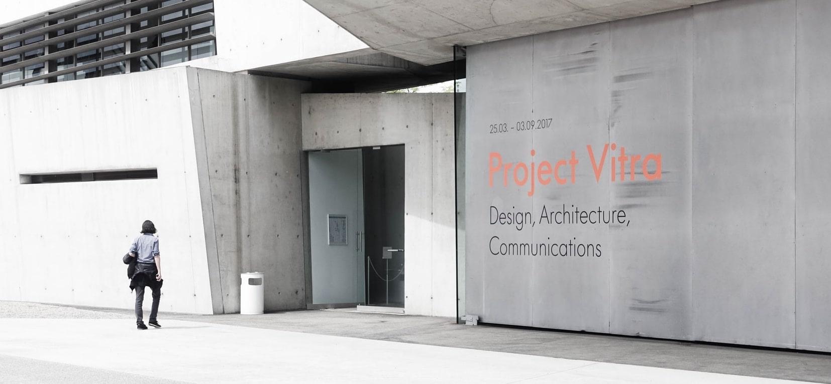 Sie sehen den Vitra Campus in Weil am Rhein