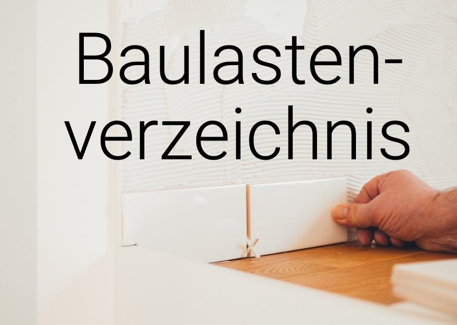 Baulastenverzeichnis