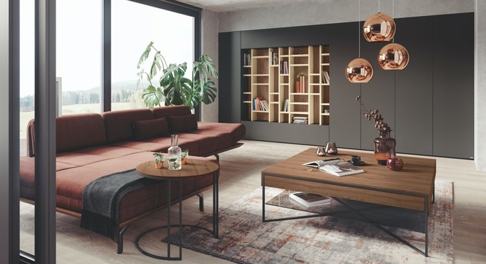 Sie sehen Möbel der Firma Hülsta