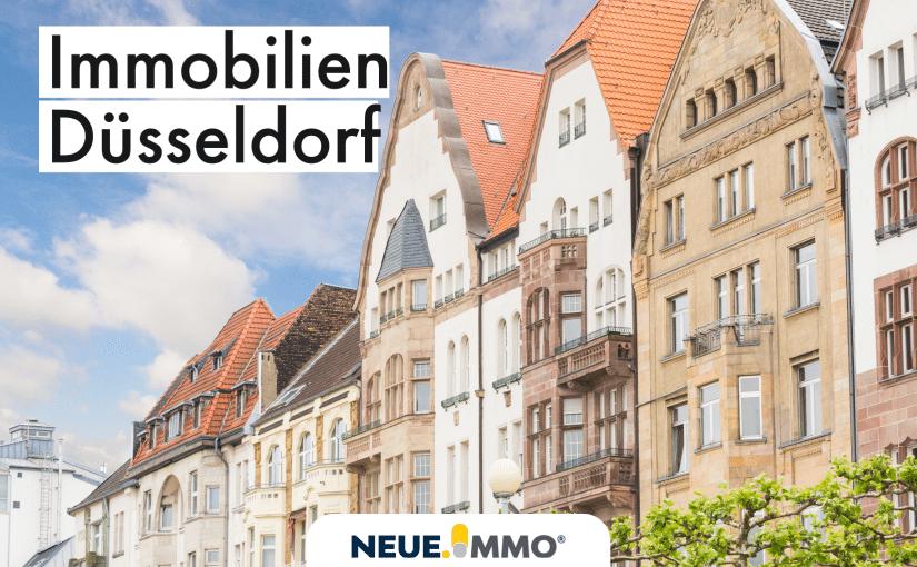 Immobilien Düsseldorf Hausfassade