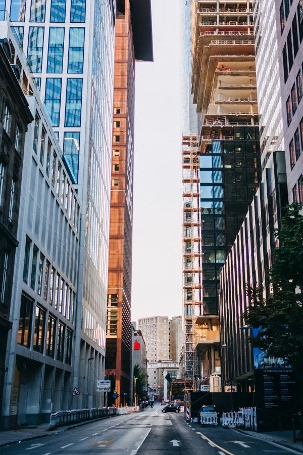 Immobilien Frankfurt ist eine Großstadt