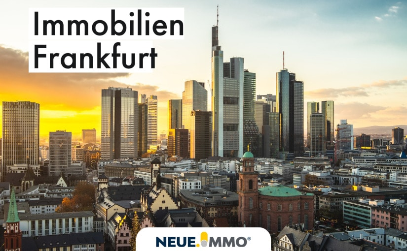 Immobilien Frankfurt mit Blick auf die City