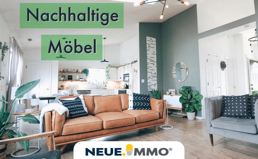 Nachhaltige Möbel im Wohnzimmer